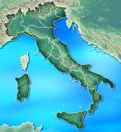 Italia Fisica Cartina Muta.Mappa Fisica Muta Italia Yahoo